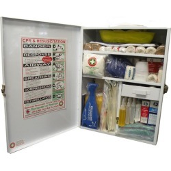 Deluxe Workplace High Risk First Aid Box