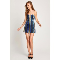 Alice McCall One World Mini Dress - AUS10 Blue found on MODAPINS from Oxygen Boutique for USD $117.21