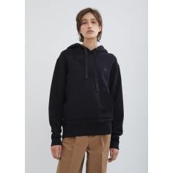 Acne Studios Ferris Face Hooded Sweatshirt Black Size: Medium found on MODAPINS from la garconne for USD $310.00