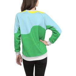 Women's Crewneck Sweatshirt - Summer Days by VIDA Original Artist found on Bargain Bro Philippines from SHOPVIDA for $90.00