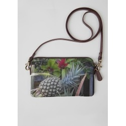 Statement Clutch - Pineapple Time in Green by VIDA Original Artist