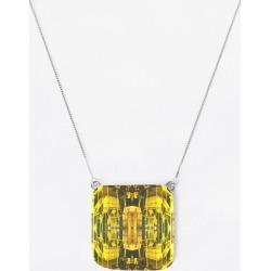 Oversized Square Pendant - Rubino Yellow Abstract by Tony Rubino Original Artist found on Bargain Bro India from SHOPVIDA for $50.00