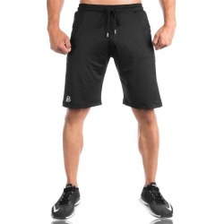 Costbuys  Men Running Shorts Black or Gray Cotton Material Basketball Tight Jerseys Quick Dry Yoga Sportswear Elastic Gym Sport