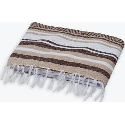 Traditional Mexican Woven Blanket found on Bargain Bro India from Gaiam for $19.98