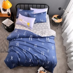 Costbuys  Microfiber Fabric  Bedding Sets4pcs Bedding Set Bed Linen Duvet Cover Pillowcases Bed Sheet Sets Home Textile - ZLB25  found on Bargain Bro India from cost buys for $168.75