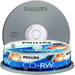 Philips Cdrw 1X-12X 80 Mins Tube Of 10 found on Bargain Bro India from Simply Wholesale for $21.69