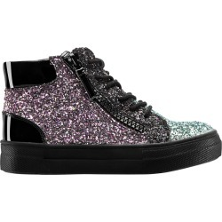 HYLDA-BLACK MULTI GLITTER - BLACK MULTI GLITTER 5 YOUTH