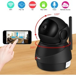Costbuys  1080P Wifi Camera Home Video Surveillance Camera CCTV Night Vision Security Camera Two-Way Audio Baby Monitor 1920*108