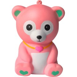 Costbuys Toys Squeeze Squishes Toy Squishies Adorable Bear Slow Rising Cream Squeeze Scented Stress Relief Toys - Pink / United