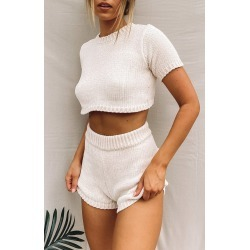 All Saints Knitted Two Piece Set Beige - L found on MODAPINS from Beginning Boutique US for USD $89.99