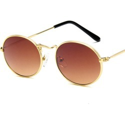 Costbuys  2018 New Brand Designer Vintage Small Oval Sunglasses Women/Men Retro Clear Lens Eyewear Sun Glasses For Female UV400  found on Bargain Bro India from cost buys for $63.95