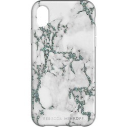 Black Glitter Marble Case For iPhone XR
