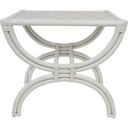 Morton Side Table White