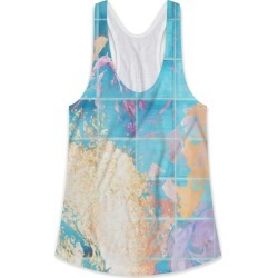 Printed Racerback Top - Mosaic Paint Spill by VIDA Original Artist found on Bargain Bro India from SHOPVIDA for $65.00