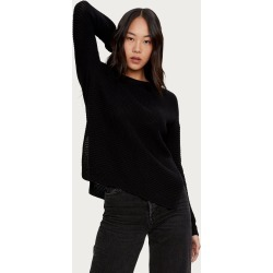 Michael Stars Womens Paige Pullover Sweater - Black, Size M