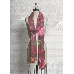 Modal Scarf - Wine And Roses by VIDA Original Artist
