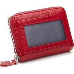 Costbuys  Multifunction Genuine Leather Coin Car Key Wallets Men Women Cards Key Holder Housekeeper Keys Organizer Case Bag Pouc