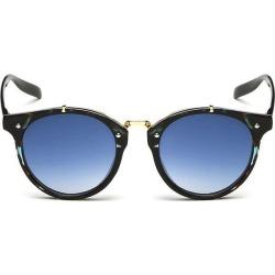 Costbuys  Retro Designer Small Round Sunglasses Men Women New Vintage Fashion Trend Mirror Sun Glasses For Male Female - green l