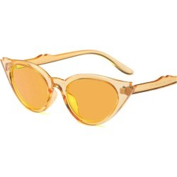 Costbuys  92133 New European and American Fashion  Sunglasses Oval Street Shoot Colorful Personality Sunglasses JW - orange found on Bargain Bro India from cost buys for $86.90