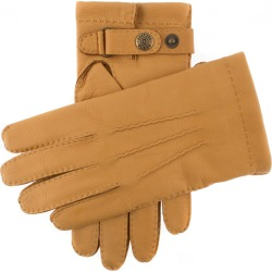 Dents Men's Handsewn Cashmere Lined Deerskin Leather Gloves In Cork Size 9 found on Bargain Bro UK from Dents