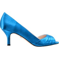 CHEZARE-CARIBBEAN BLUE SATIN - CARIBBEAN BLUE 10 M found on Bargain Bro Philippines from Nina Shoes for $79.00