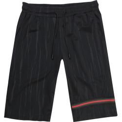 Costbuys  Men's Fashion Summer Shorts Men's Breathable Elastic Men's Large Size Beach Black Shorts Size XL XXL 3XL 4XL 5XL 6XL -