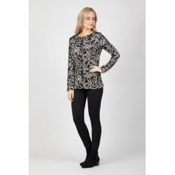 Abstract Knit Top found on Bargain Bro UK from Izabel London UK