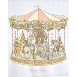 Atelier Choux CARRÉ - CAROUSEL found on Bargain Bro UK from Oxygen Boutique