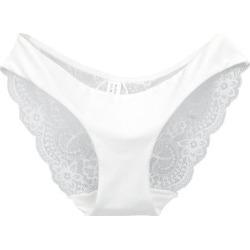 1b11b9a469a Costbuys Women s lace panties seamless panty briefs Cotton Low Waist underwear  intimates - white   L