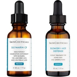 Perfect Product Pair: SkinCeuticals Silymarin CF + Blemish + AGE Defense Serum found on Makeup Collection from Face the Future for GBP 227.53