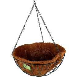 Hanging Basket W/ Liner & Chain found on Bargain Bro India from Simply Wholesale for $35.58