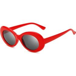 Costbuys  New Oval Sunglasses Women Men Designer Summer Retro Sunglass Female Oculos de sol UV400 Round Sun glasses - C4