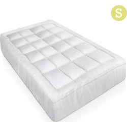Giselle Mattress Topper Bamboo Fibre Pillowtop Protector found on Bargain Bro India from Simply Wholesale for $59.78