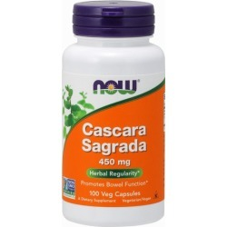 Cascara Sagrada 100 Caps by Now Foods found on Bargain Bro from Herbspro for USD $6.83