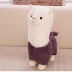 Costbuys  25CM Cartoon Cute Sheep Plush Toys Soft Stuffed Animal Dolls Fashion Creative Plush Toys Gifts For Kids 112 - Purple
