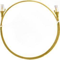 Cat 6 Ultra Thin Lszh Ethernet Network Cables Yellow found on Bargain Bro India from Simply Wholesale for $23.11