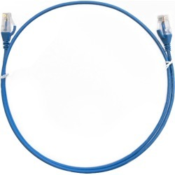 Cat 6 Ultra Thin Lszh Ethernet Network Cable Blue found on Bargain Bro Philippines from Simply Wholesale for $22.06