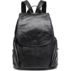 Costbuys  Backpack Women Sheep Leather Backpack Bookbags Travel Backpack Anti Theft Backpacks Mochila Feminina Solid Softback -