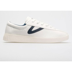 e7f7450d7 Tretorn Nylite Canvas Women s Tennis Shoes White Navy. Holabird Sports.  Tretorn Nylite ...
