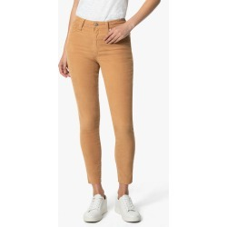 Joe's Jeans Women's The Charlie Ankle Skinny Jeans in Biscuit/Beige | Size 24 | Cotton/Spandex