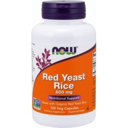 Red Yeast Rice Extract 120 Vcaps by Now Foods found on Bargain Bro from Herbspro for USD $22.03