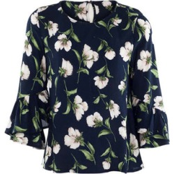 Floral Shell Top found on Bargain Bro UK from Izabel London UK