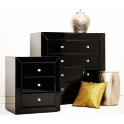 Glass Chest Of Drawers