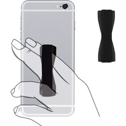 Samsung Z1 - Slim Elastic Phone Grip Sticky Attachment, Black found on Bargain Bro India from cellularoutfitter.com dynamic for $2.99