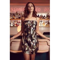 Camo Sequin Mini Dress found on Bargain Bro UK from Izabel London UK
