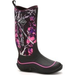 Women's Hale Boot in Black/Muddy Girl Camo | 5 | The Original Muck Boot Company