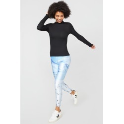 Terez | Ski Trip Slim Band Leggings | Women's Leggings | M