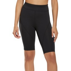 Free People Women's Movement Biker Baby Shorts - Black Small Spandex