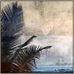 Seventh Sea Canvas Print With Floating Frame