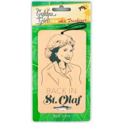 OFFICIAL Golden Girls Air Freshener Feat. Rose, Back in St. Olaf Rose Scent found on Bargain Bro Philippines from Toynk Toys for $8.99